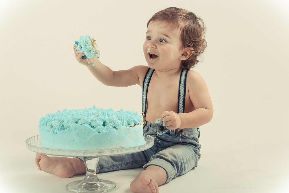 servizio fotografico bimbo smash cake bassano nove marostica