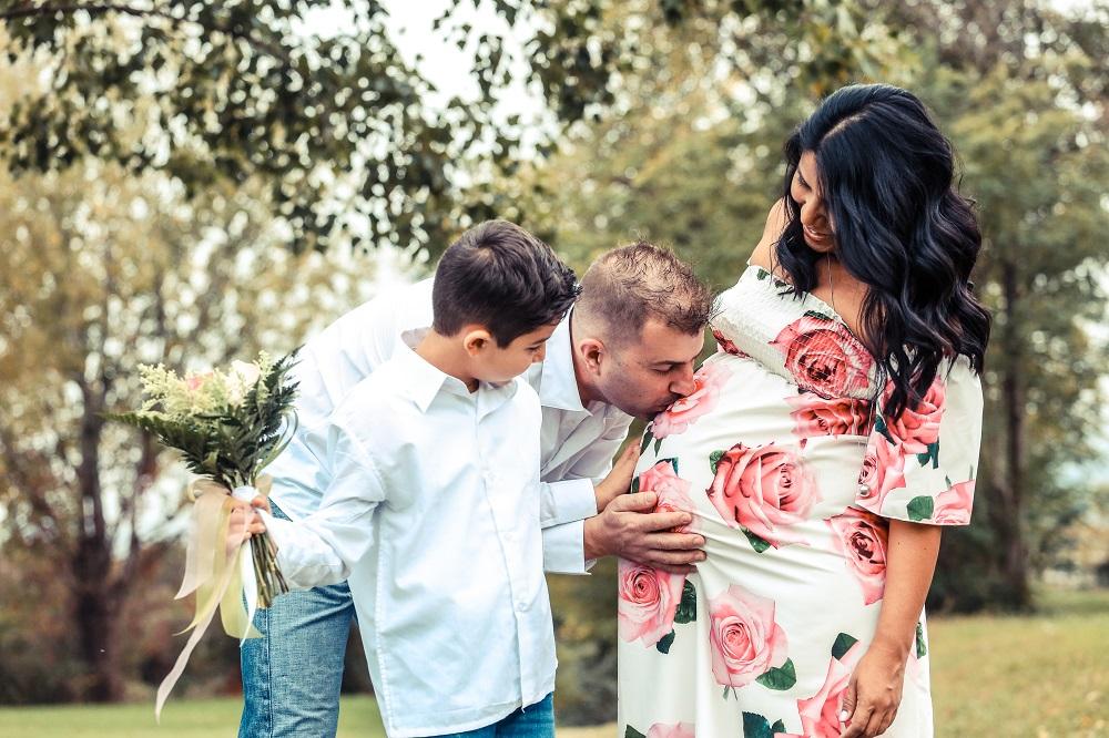 foto bordignon aspettando foto gravidanza in famiglia