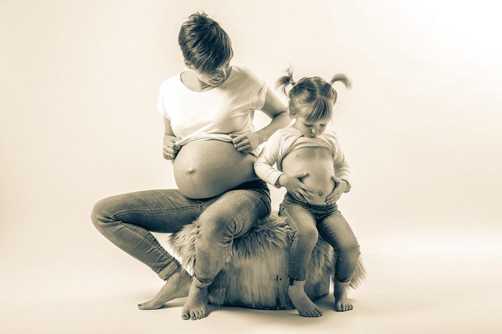 servizio fotografico aspettando in gravidanza foto bordignon nove