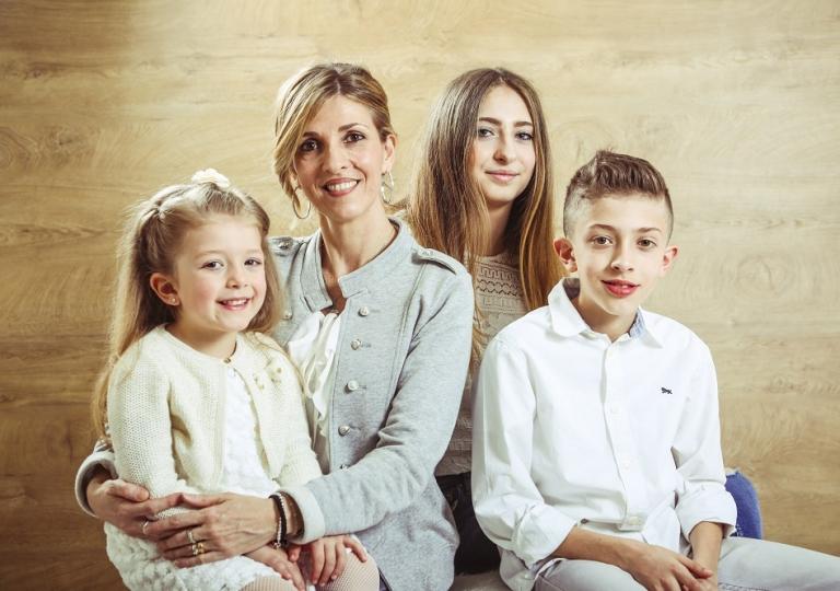 mamma con figli foto bordignon nove